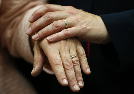 For some same-sex couples, gay divorce is hard to do by Richard wolf